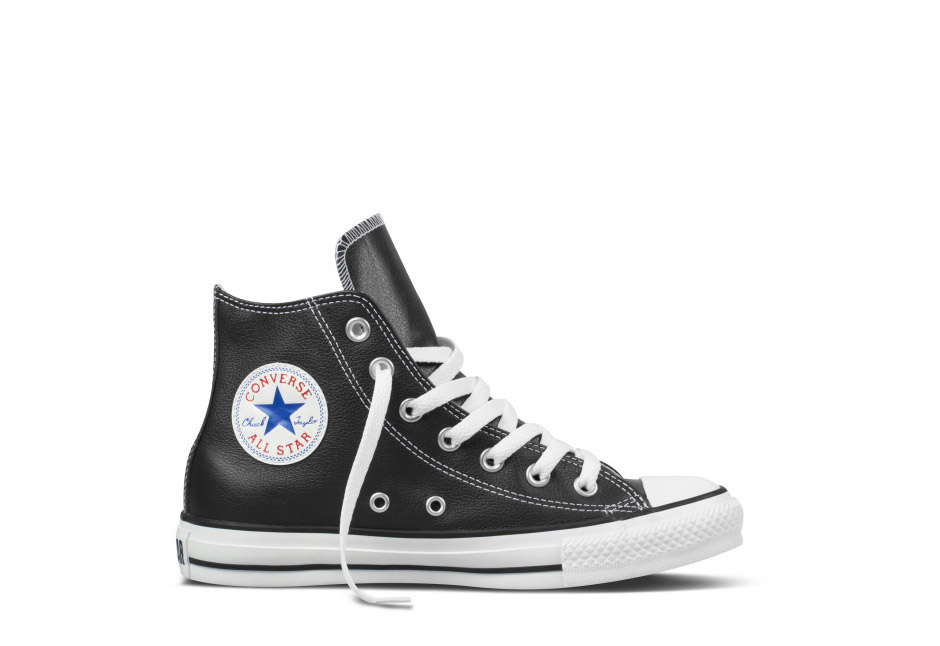 Unisex Chuck Taylor All Star Carryover Leather Hi Black