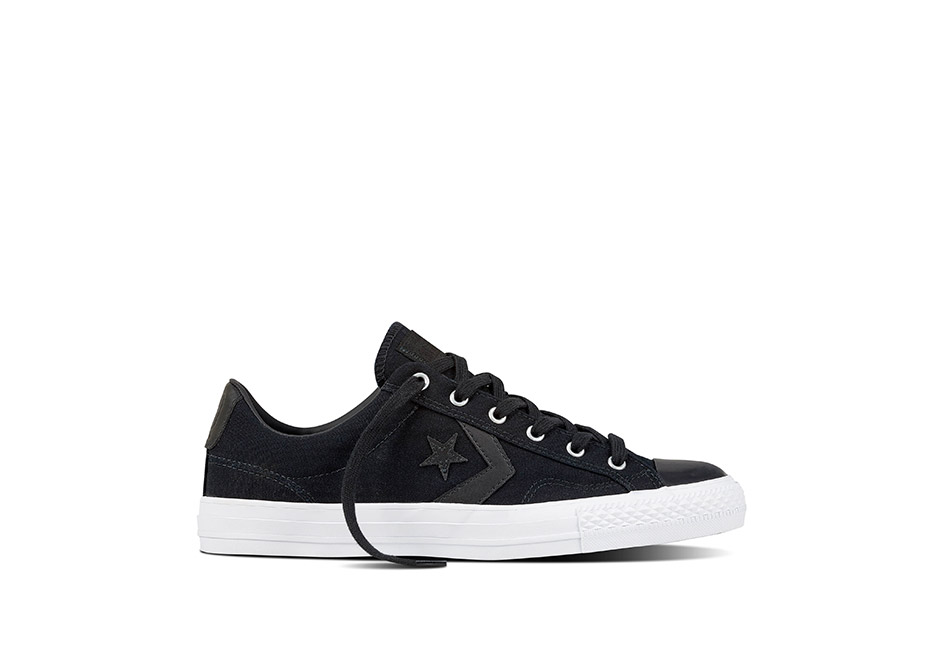 Unisex Star Player Canvas With Gum Black