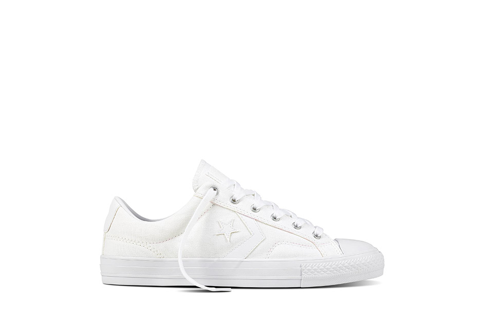 Unisex Star Player Canvas With Gum White