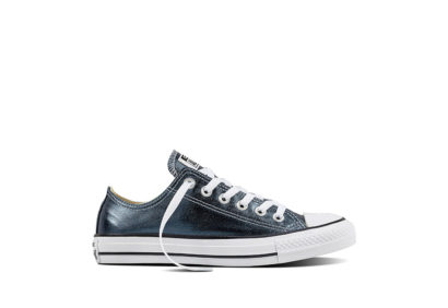 Women Chuck Taylor All Star Metallic Canvas Blue