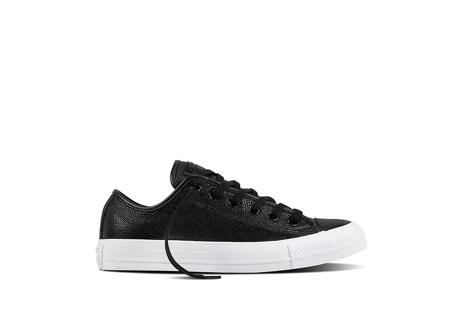 Women Chuck Taylor All Star Pebbled Leather Black