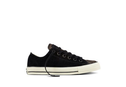 Women Chuck Taylor All Star Pony Hair Black