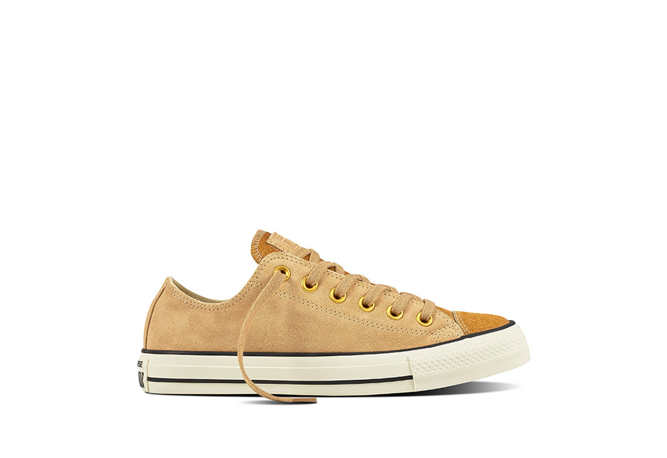 Women Chuck Taylor All Star Pony Hair Light Fawn