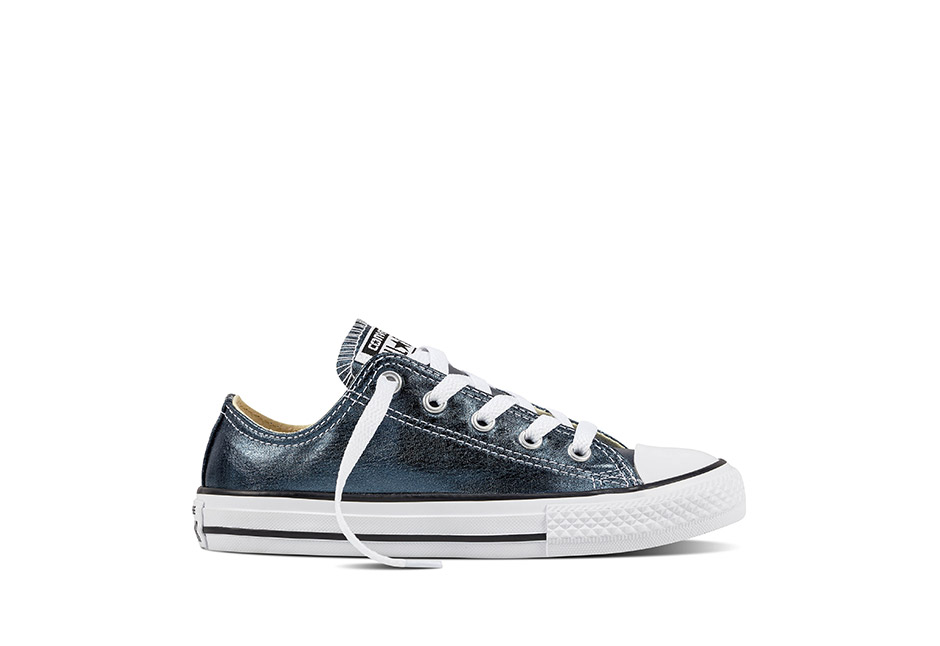Youth Chuck Taylor All Star Metallic Seasonal Blue