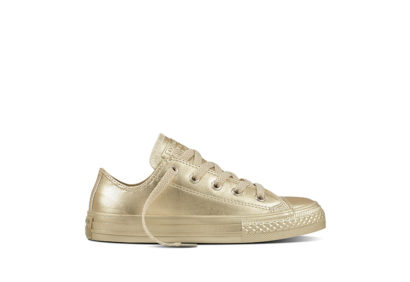 Youth Chuck Taylor All Star Metallic Seasonal Gold