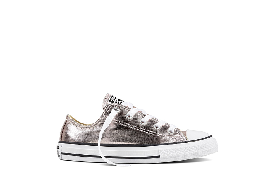 Youth Chuck Taylor All Star Metallic Seasonal Rose