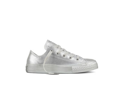 Youth Chuck Taylor All Star Metallic Seasonal Silver