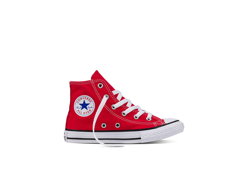 Youth Chuck Taylor All Star Core Hi Red