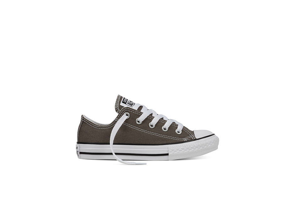 Youth Chuck Taylor All Star Core Ox Charcoal