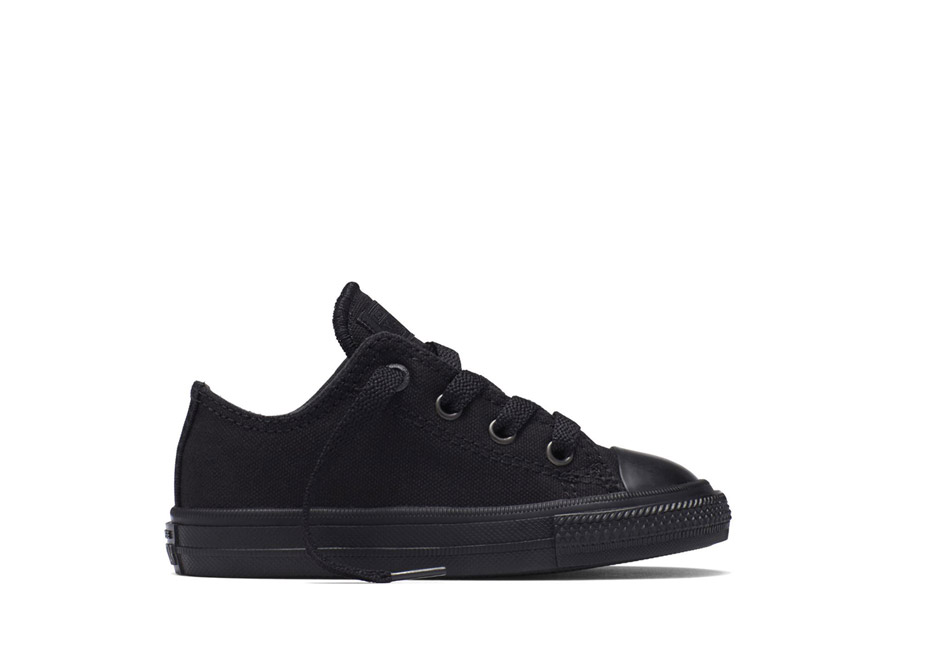 Youth Chuck II Core Ox Mono Black