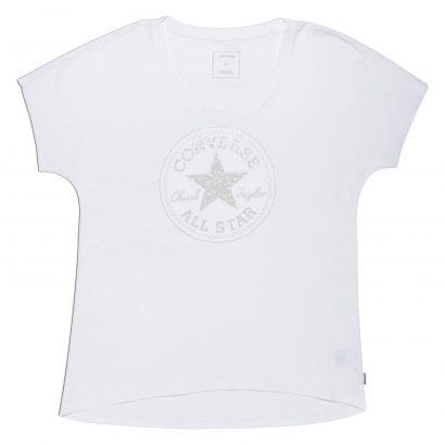 METALLIC SPECKLED PRINT CP FILL FEMME TEE