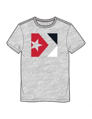 CONVERSE STAR CHEVRON TRI COLOR TEE