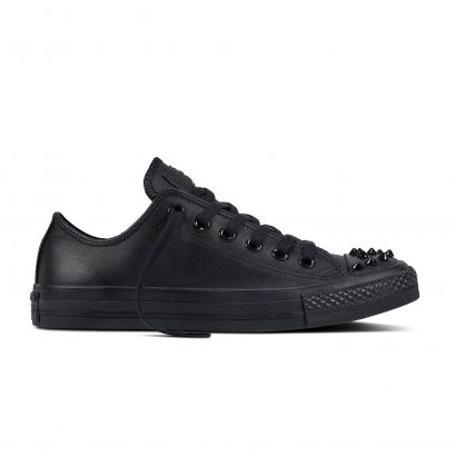 CHUCK TAYLOR ALL STAR SL + STUDS, FASHION, OX, BLACK/BLACK/BLACK