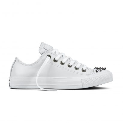 CHUCK TAYLOR ALL STAR SL + STUDS, FASHION, OX, WHITE/WHITE/WHITE