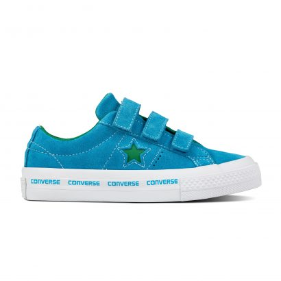 ONE STAR 3V CONVERSE WORDMARK SUEDE