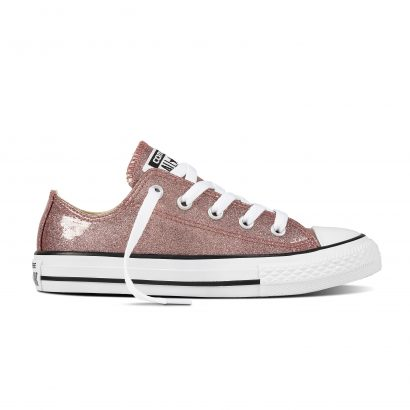 CHUCK TAYLOR ALL STAR SEALL STARONAL GLITTER, FASHION, OX, ROSE GOLD/NATURAL/WHITE