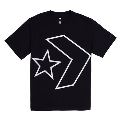CONVERSE TILTED STAR CHEVRON TEE