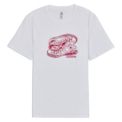 Converse Illustration Sneaker Art Tee
