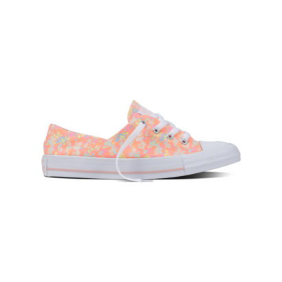 CHUCK TAYLOR ALL STAR: CORAL/ CANVAS FLORAL