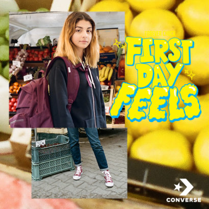 POWRÓT DO SZKOŁY Z CONVERSE: FIRST DAY FEELS TOUR