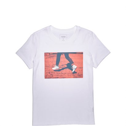 W White Chucks Photo Crew Tee