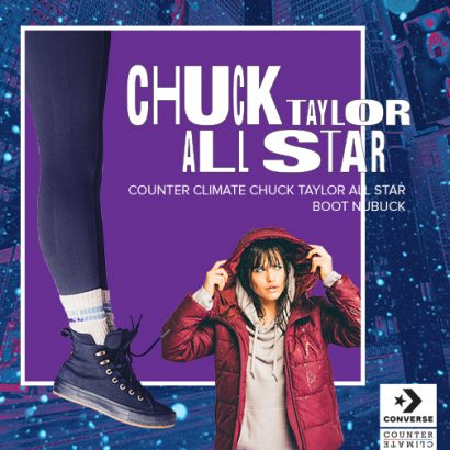 COUNTER CLIMATE CHUCK TAYLOR ALL STAR WP BOOT NUBUCK