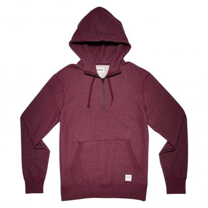 ESSENTIALS WINTERWOOL HALF-ZIP HOODIE