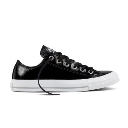 CHUCK TAYLOR ALL STAR: CRINKLED PATENT LEATHER