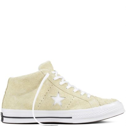 ONE STAR: PREMIUM SUEDE COTTON CANDY MID