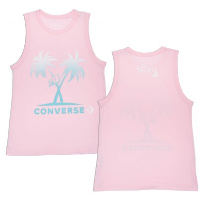 GRADIENT PALM TREES MUSCLE TANK