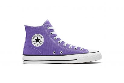 CONVERSE PURPLE CHUCK TAYLOR ALL STAR PRO HI