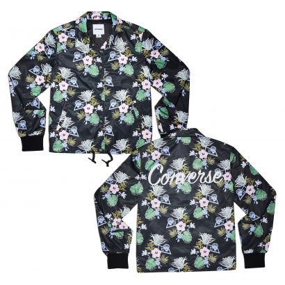 PALM PRINT COACHES JACKET