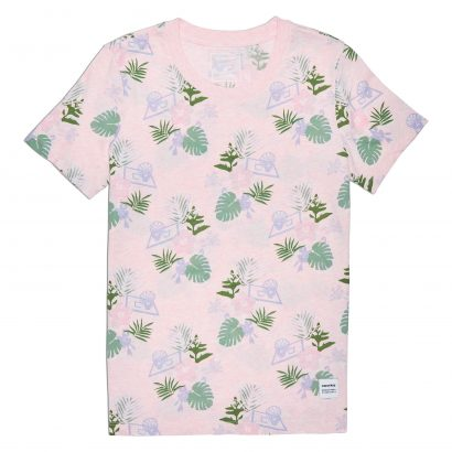 ESSENTIALS PALM PRINT TEE