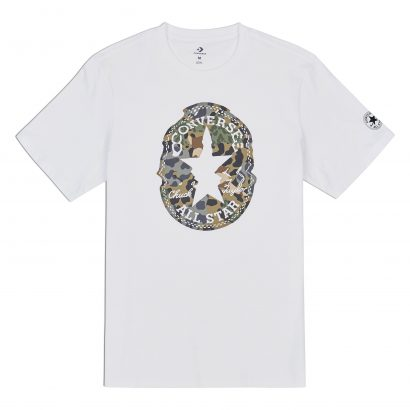 CONVERSE WARPED CHUCK PATCH TEE