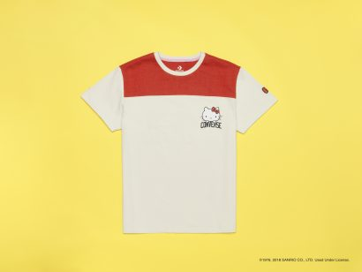 CONVERSE X HELLO KITTY FOOTBALL TEE
