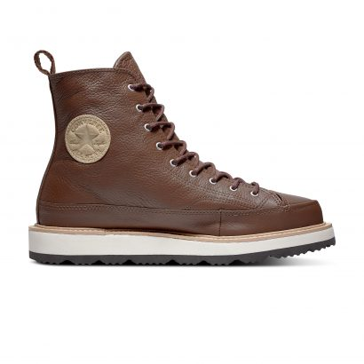 CHUCK TAYLOR CRAFTED BOOT – HI – CONVERSE CHOCOLATEL/LIGHT FAWN/ BLACK
