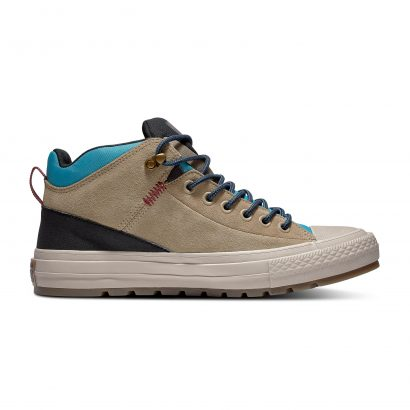CHUCK TAYLOR ALL STAR STREET BOOT – HI – KHAKI/BLACK/RAPID TEAL