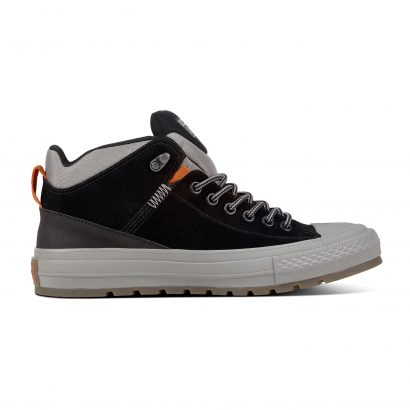 CHUCK TAYLOR ALL STAR STREET BOOT – HI – BLACK/BLACK/DOLPHIN