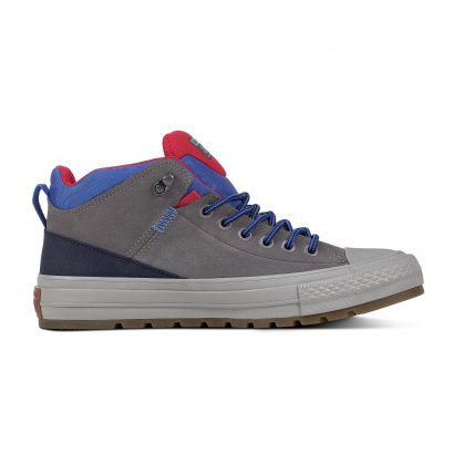 CHUCK TAYLOR ALL STAR STREET BOOT – HI – MASON/OBSIDIAN/PINK POP