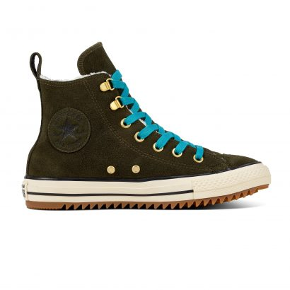 CHUCK TAYLOR ALL STAR HIKER BOOT – HI – UTILITY GREEN/RAPID TEAL/NATURAL IVORY