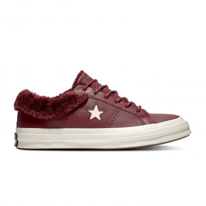ONE STAR – OX – DARK BURGUNDY/POMEGRANATE RED/EGRET