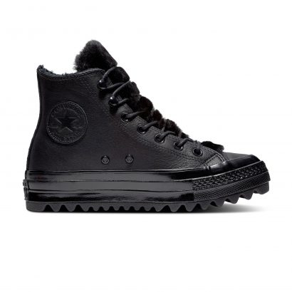 CHUCK TAYLOR ALL STAR LIFT RIPPLE – HI – BLACK/BLACK/BLACK