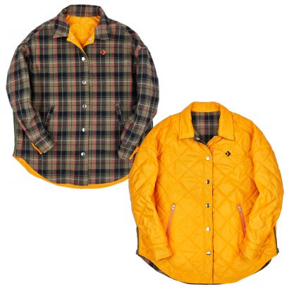 CONVERSE SHIRT JACKET – FIELD ORANGE