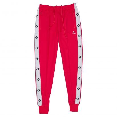 CONVERSE STAR CHEVRON TRACK PANT – CHERRY RED