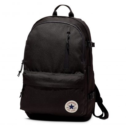 STRAIGHT EDGE BACKPACK – CONVERSE BLACK