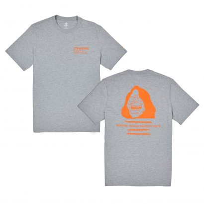 CONVERSE REEPER SHORT SLEEVE TEE – VINTAGE GREY HEATHER