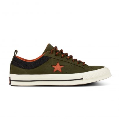 ONE STAR – OX – UTILITY GREEN/CAMPFIRE ORANGE/BLACK