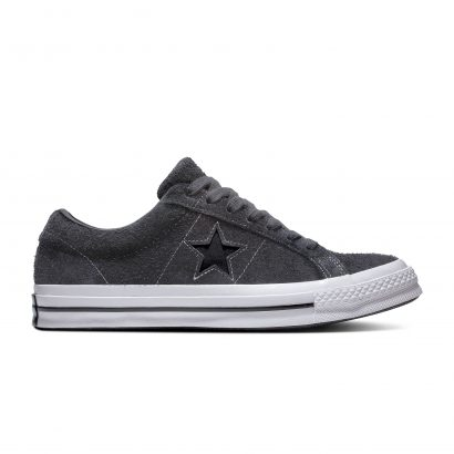 ONE STAR DARK STAR VINTAGE SUEDE ALMOST BLACK/BLACK/WHITE