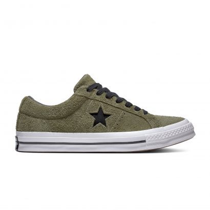 ONE STAR DARK STAR VINTAGE SUEDE FIELD SURPLUS/BLACK/WHITE
