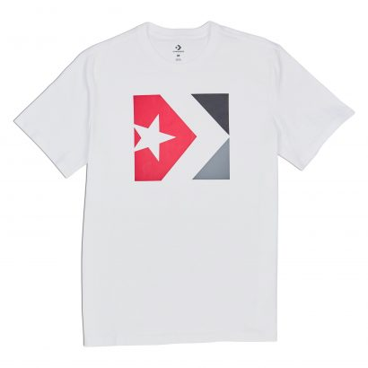 CONVERSE STAR CHEVRON BOX TEE – WHITE